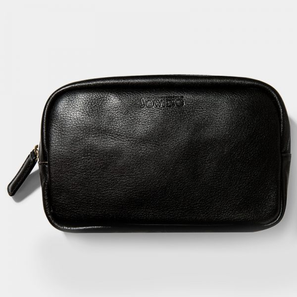 Oslo Cosmetic Bag Black